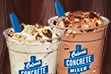 Concrete Mixers made with Snickers