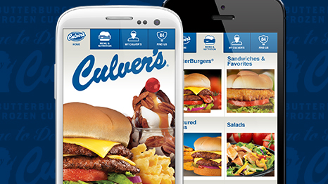 Culver&#39;s iPhone and Android Apps