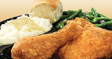 Culver&#39;s Fresh Fried Chicken Dinner