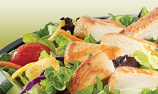 Culver's Garden Fresco Salad with Grilled Chicken