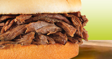 Culver's Beef Pot Roast Sandwich