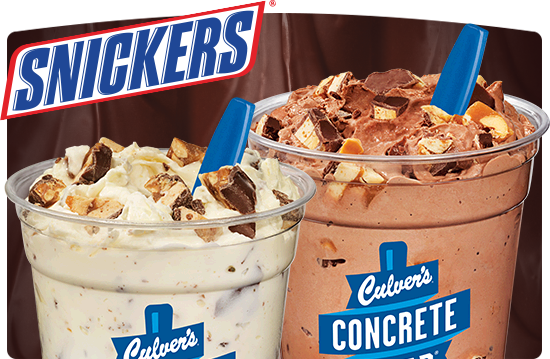 Culver's Snickers Concrete Mixer