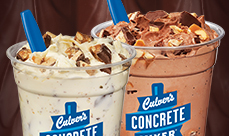 Culver's Desserts made with Snickers
