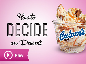 How to Decide on Dessert